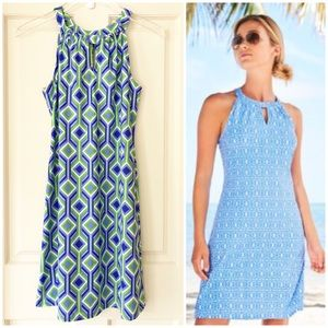 Jude Connally | Halter Look Sleeveless Lisa Dress